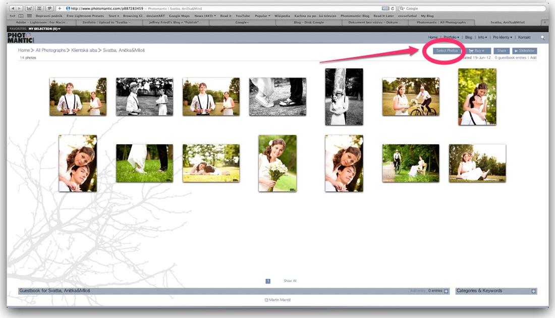 výběr fotek Photomantic